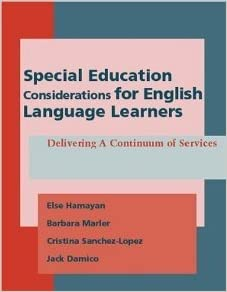 How Language Of Special Education Is >> Special Education Considerations For English Language Learners
