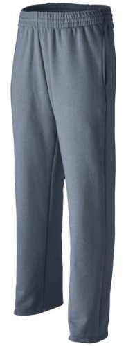 Augusta Sportswear Men's Open Bottom Circuit Pant , Graphite, Large