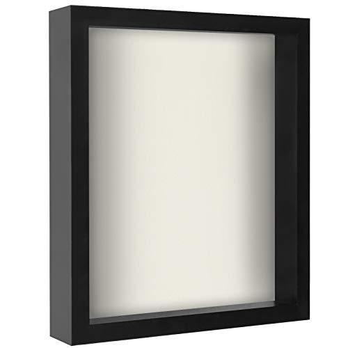 (Americanflat 11x14 Shadow Box Frame, Black)