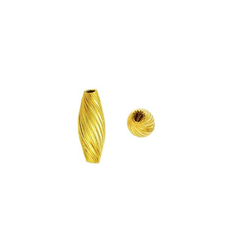 Spiral Tube Bead - 8