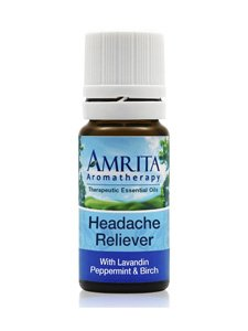 Headache Reliever Essential Oil 10 Milliliters by Amrita