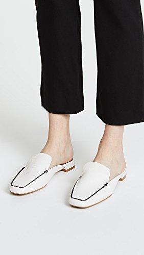 Matiko Femmes Tina Loafer Mules Blanc