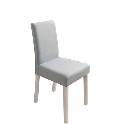 BERTERI 4Pcs Chair Covers Solid Color Universal Dustproof Dining Chair Seat Slipcovers for Party Wedding Banquet Home Decor (Case A517 Cover)