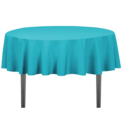 LinenTablecloth 70-Inch Round Polyester Tablecloth ()