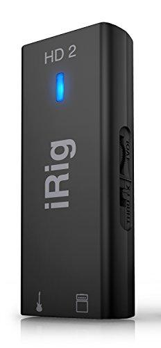 [해외] IK Multimedia iRig HD 2 고음질 기퍼터/베이스용 인터페이스[국내 정규품]