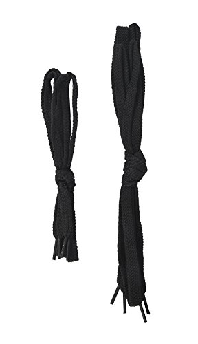 PORTWEST FL01 Steelite 90cm Black Shoelace Black FL01BKR