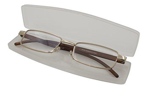 Able Vision Reading Glasses - Slim Reader Brown / +2.75-R14156BRN275