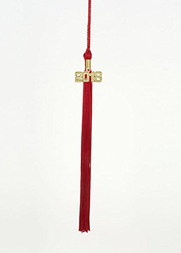 Amazoncom 2018 Red Graduation Tassel Tassel Depot Brand Made