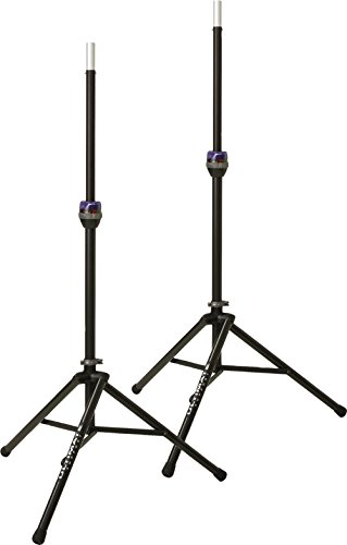 Ultimate Support TS-90B Telelock Tripod Speaker Stand Pair by Ultimate Support