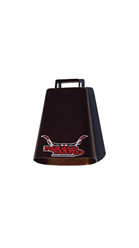 Rodeo Hard Bull Bell Copper Steel Cow Bell Heavy Duty 7'' by Rodeo Hard