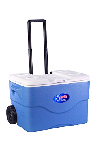 Coleman 75-Quart Xtreme 5-Day Wheeled Cooler by Coleman