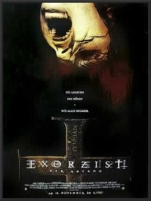 Framed THE EXORCIST - RARE GERMAN MOVIE 23 3/8 x 33 Poster i