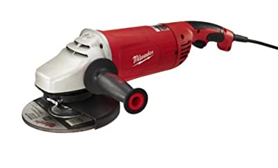 Milwaukee 6088-31 7-Inch/9-Inch Large Angle Grinder with No Lock-On