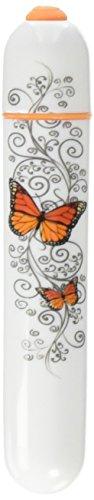Big Teaze Toys B3 Minivibrator Onye Petite Butterfly, weiß/orange