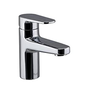 Fluid Faucets F18001 Utopia Single Handle Bathroom Sink Faucet, Chrome,  1 Pack