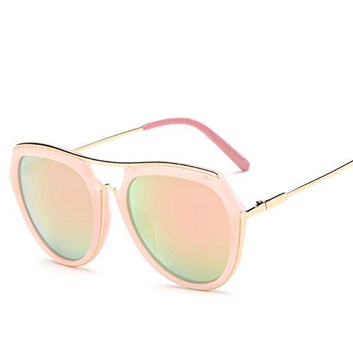 Retro Sunglasses Gold Gafas Nuevas Gafas WNLSG Color Hipster De Retro De Sol Tendencias Gafas Gafas Mujeres Sol Trendy Recubrimiento Gold De Moda Moda De daSnBnWqCz