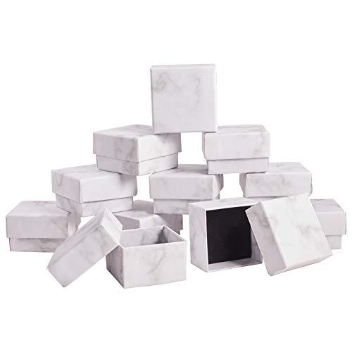 BENECREAT 20 Pack Caja de Joya Caja de Cartón Craft con ...
