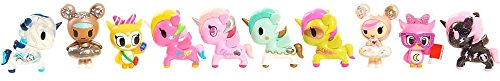Neon Star by Tokidoki - DELUXE COLLECTIBLE SET Series # 1 - 10 Pieces, 2 Surprise Figure Inside