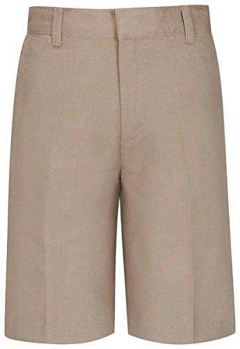 Classroom Men's Flat Front Short, Khaki, 29 School Mens Short