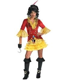 Sassy Captain Hook Female Adult Costume ()