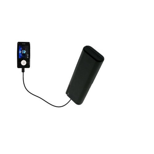 Aa 4 Gb Kit (Gomadic Advanced iRiver X20 2GB 4GB 8GB compatible AA Battery Pack Charge Kit – Portable power built with upgradeable TipExchange Technology)