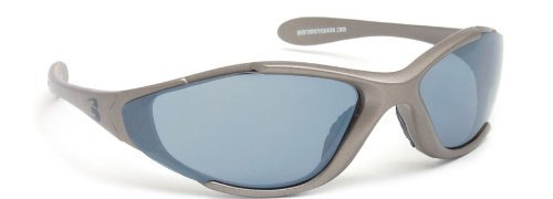 Bertoni Sport Sunglasses Multilens Running Golf Ski Cycling by Italy - D200C Mat Grey by Italy - Wraparound Sports Windproof Glasses