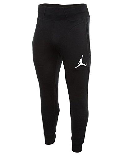 Nike Mens Jordan Varsity Fleece Sweatpants Black/White 689016-010 Size X-Large