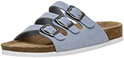 CUSHIONAIRE Women's Lela Cork Footbed Sandal with +Comfort