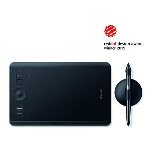 chollos oferta descuentos barato Wacom Intuos Pro S Tableta gráfica Tableta profesional pequeña con lápiz Wacom Pro Pen 2 y puntas de repuesto premiada por mejor diseño de producto óptima para oficina en casa y e learning