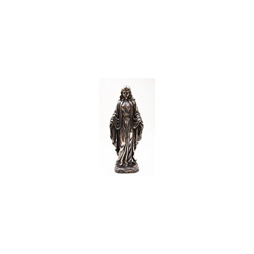 - Pacific Trading Bronze Finish Madonna Statue, 10
