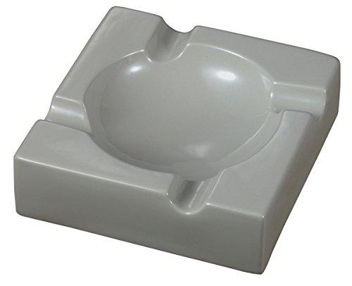 Visol Donovan VASH903 - Cenicero para Puros de cerámica en Color Negro, para Uso en Exteriores.