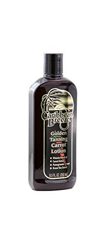 - Caribbean Breeze-Golden Tanning Carrot Lotion, 8.5 oz (250 ml)