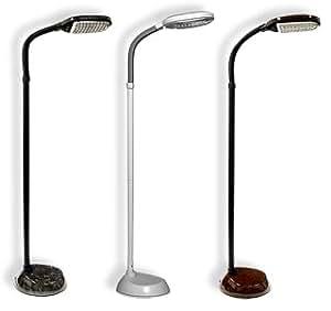 Comfort view full spectrum floor lamp walnut amazoncom for Full spectrum floor lamp 70w
