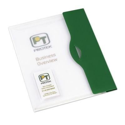 (Case of 12 Avery Style Edge Document Wallet - Green )
