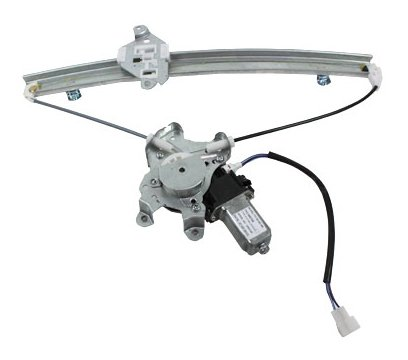 TYC 660154 Mitsubishi Lancer Front Driver Side Replacement Power Window Regulator Assembly with -