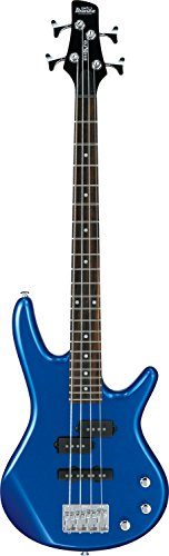 Ibanez GSRM 4 String Bass Guitar, Right Handed, Starlight Blue (GSRM20SLB)