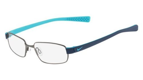 (Eyeglasses NIKE 8161 070 SHINY GUNMETAL/NEW SLATE)