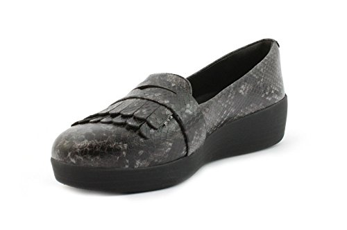 Fitflop Black Mocassino Fringey Mocassino Fitflop Sneakerloafer Fringey Sneakerloafer 4x6z6P0Wqn