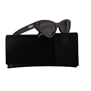 Moschino MOS006/S Sunglasses Dark Havana w/Muave Lens 52mm 086K2 MOS 006S MOS 006/S MOS006S