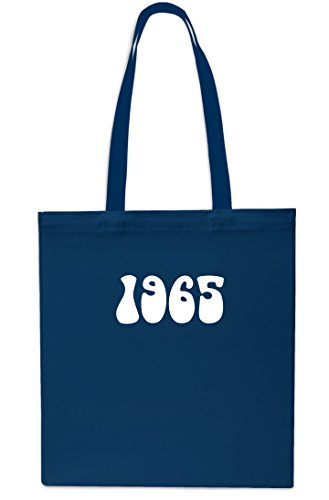 Gym Year Anniversary NAVY Birthday Shopping x38cm 42cm litres Beach Tote Bag 1965 10 NAVY nXEqHxdwq