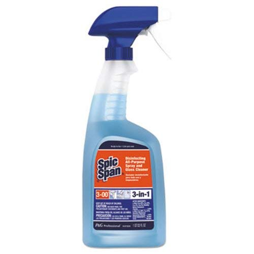 Spic and Span - Disinfecting All-Purpose Cleaner, Fresh Scent, 32 oz Spray Bottle, 8/CT 58775CT (DMi CT