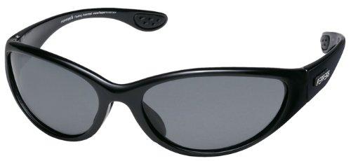 Pepper's Eyeware Breakwater FM7330-1 SHINY BLACK Polarized Sunglasses