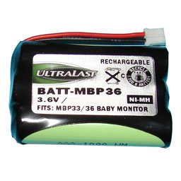 Summer MBP36PU Baby Monitor Battery from Batteries