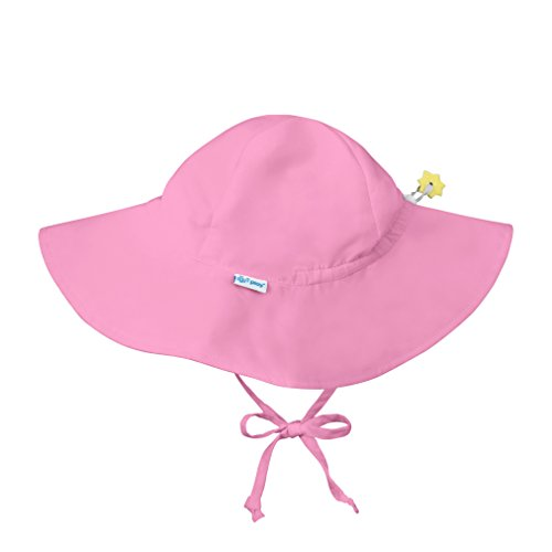 i play. Toddler Brim Sun Protection Hat, Light Pink, 2T-4T (Toddler Hat Pink)