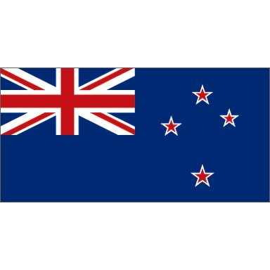 Online Stores, Inc. New Zealand 4x6ft Nylon Flag With Indoor Pole Hem And - Online New Store Zealand