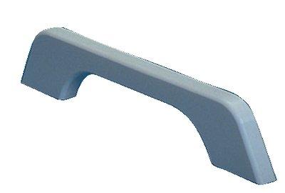 Loop Teak Handrail - Handrail 1 Loop White Poly