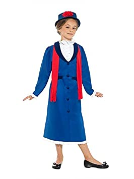DISBACANAL Disfraz Mary Poppins para niña - Único, 10-12 ...