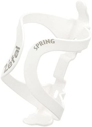 Zefal Spring Bike Bicycle Cycling Water Bottle Cage White