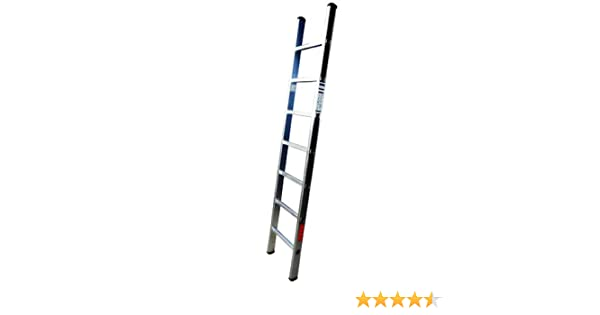 Homelux 825013 Escalera Aluminio Simple, 3 m, 11 Peldaños, 5.5 kg: Amazon.es: Jardín