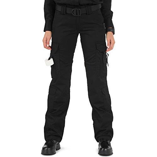 5.11 Tactical Women's Taclite EMS Pants, Black, 10/Long